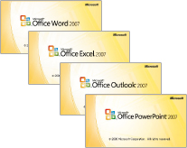 Microsoft® Office Personal 2007 with PowerPoint® 2007