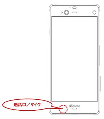 f-01k送話口_マイク