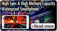 High Spec & High Memory Capacity Waterproof Smartphone