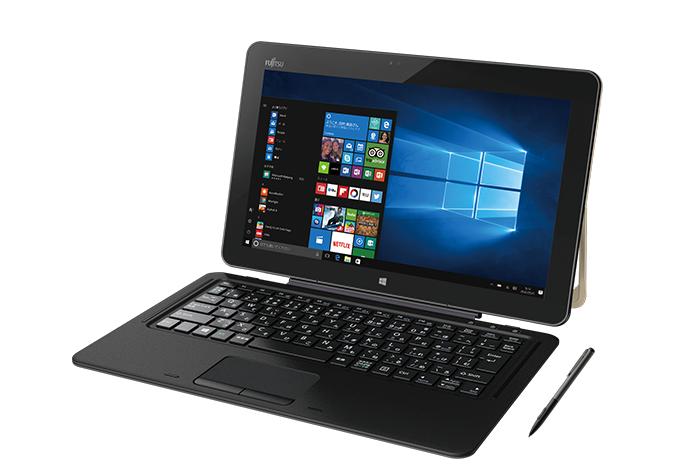 12.5型 Windowsタブレット arrows Tab RHシリーズ:カラー・各部名称