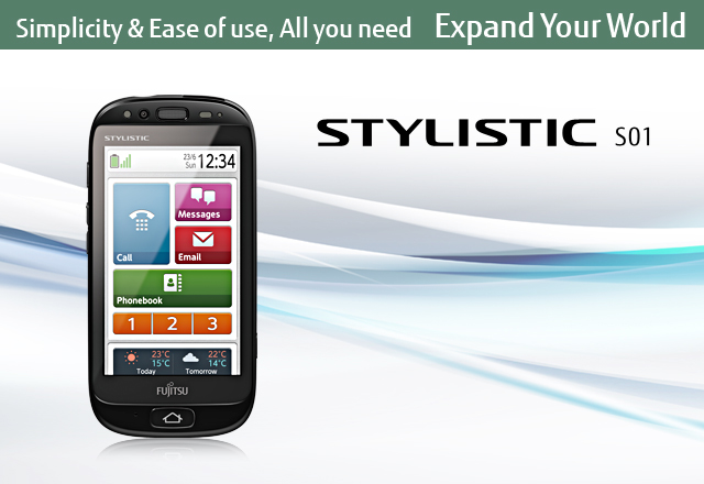 Simplicity & Ease of use, All you need [Expand Your World] / STYLISTIC S01